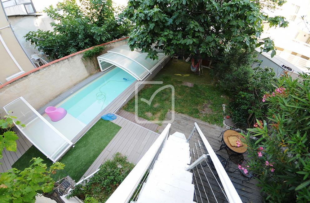 vente rare maison avec piscine 5 me